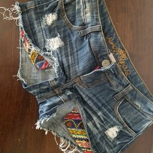 Almost famous Shorts with decorative pockets